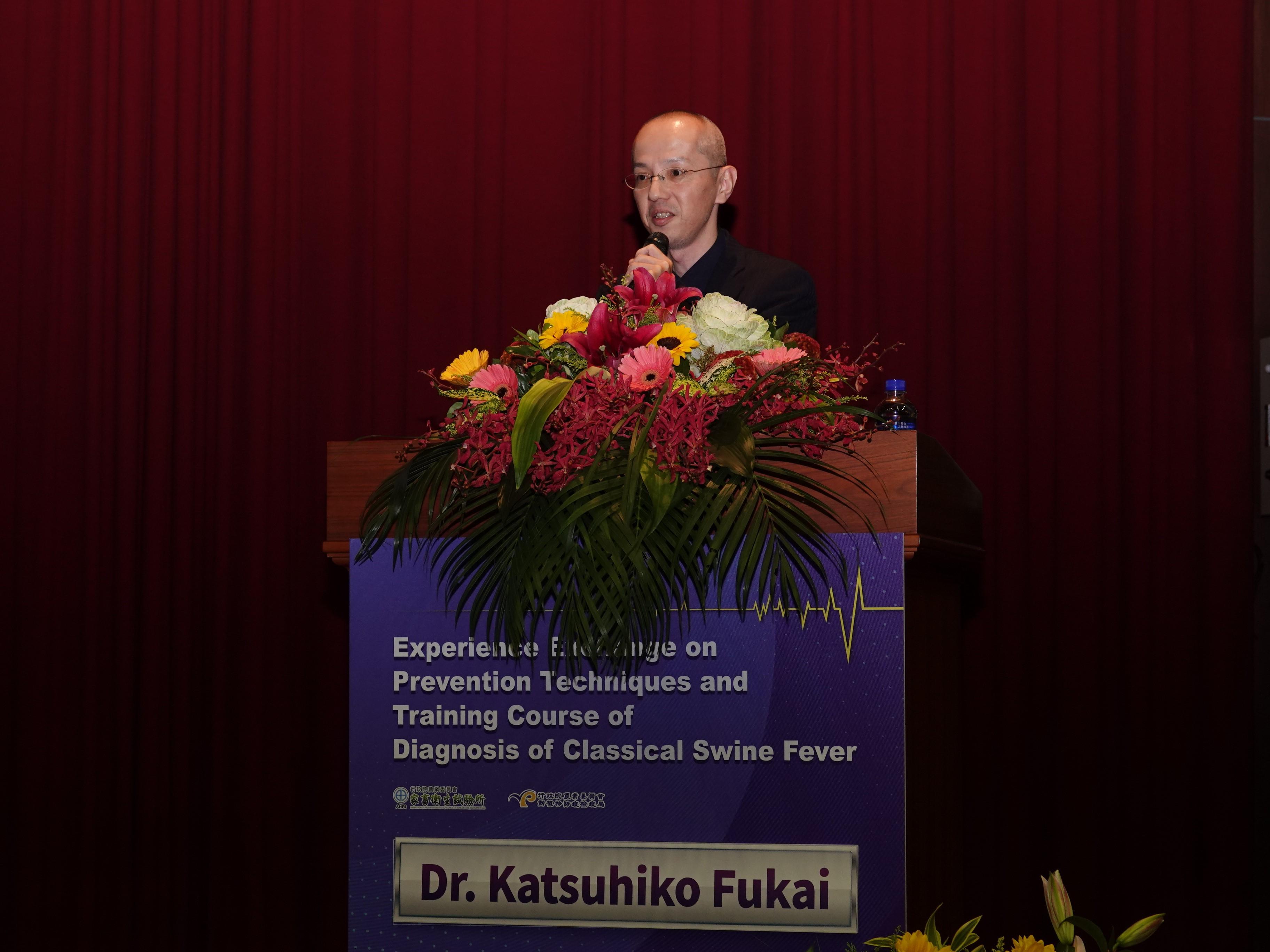 日本動物衛生研究部深井克彥博士報告:日本2018-2019年爆發的豬瘟病毒特性