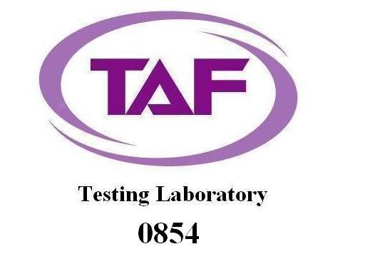 TAF認證通過的的LOGO